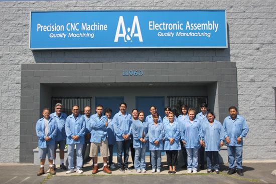 About A&A Electronic Assembly